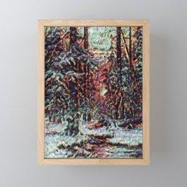 Sprinkles from a Forest Dream Framed Mini Art Print