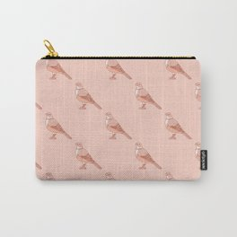 Kawaii Rufous Bellied Thrush Pattern Carry-All Pouch