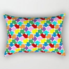 Anywhere You Want To Go - White Rectangular Pillow