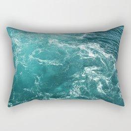Dancing Seas Rectangular Pillow