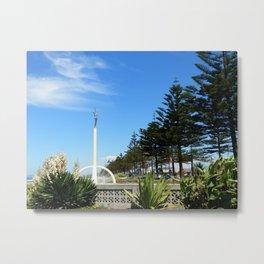 Gilray Fountain, Napier (New Zealand Collection) Metal Print