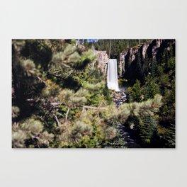 Tumalo Falls by Moonlight Canvas Print