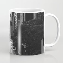 New York City (Black and White) Coffee Mug