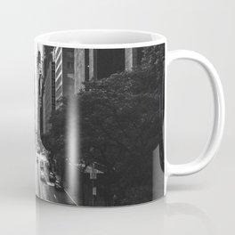 New York City (Black and White) Coffee Mug