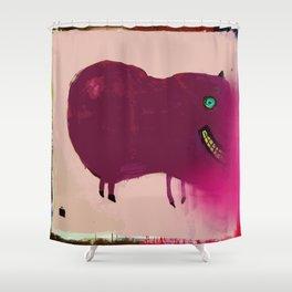 Working Stiff Shower Curtain