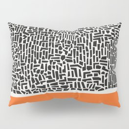 City Sunset Abstract Pillow Sham
