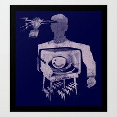 HYPODERMIC NEEDLE THEORY Art Print