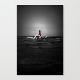 Lighthouse Glow Canvas Print