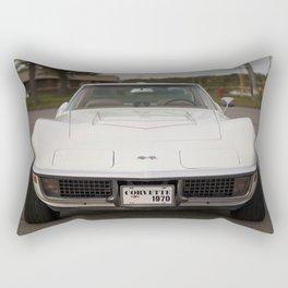 1970 Vette Rectangular Pillow