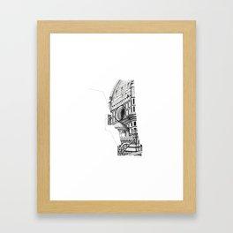 Cattedrale di Santa Maria del Fiore - Firenze Framed Art Print
