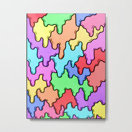 Paint Drip Metal Print