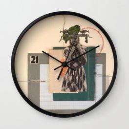 Cutting Small Threads Wall Clock
