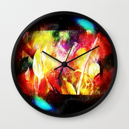 Deep Within Wall Clock