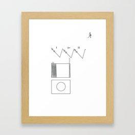 Voyager Golden Record Fig. 2 Framed Art Print