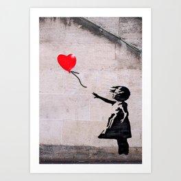 Banksy, Hope Art Print