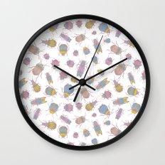 Candy Bugs Wall Clock