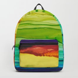 Euphoria Rainbow Art Print Backpack