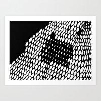honeycomb Art Prints featuring Honeycomb by Felipe B. C. Gama