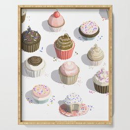 I Like Cupcakes Serving Tray