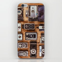 Photographer's History iPhone Skin