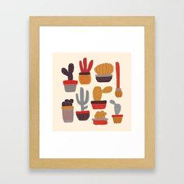 Kaktus Framed Art Print
