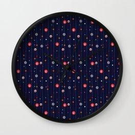 christmas 5 Wall Clock