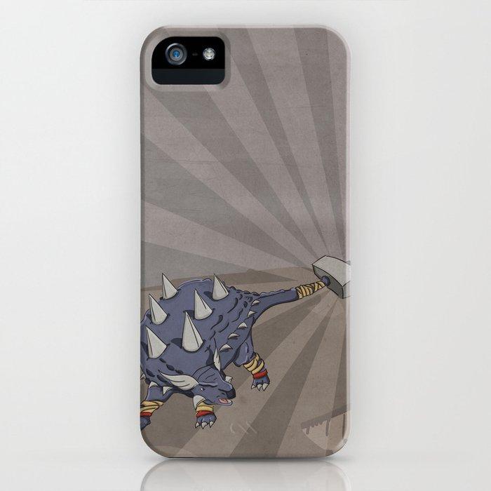 Ankylothorus - Superhero Dinosaurs Series iPhone Case