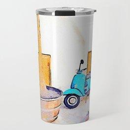 Scooter in Tortora Travel Mug