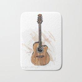 Acoustic Guitar Bath Mat