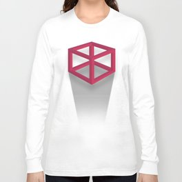 Geometry is for squares Long Sleeve T-shirt