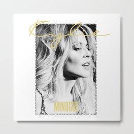 Kylie Forever Metal Print