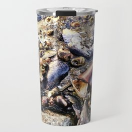 Bottom of the Sea at Low Tide in Casco Bay (1) Travel Mug