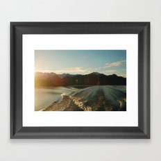 Doubtful Sound Framed Art Print