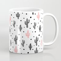 cactus Mugs featuring Cactus  by Make-Ready