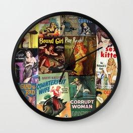 Pulp Fiction 6 Wall Clock