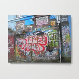 Dublin Graffitti Part I Metal Print