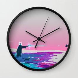 PHAZED PixelArt 4 Wall Clock