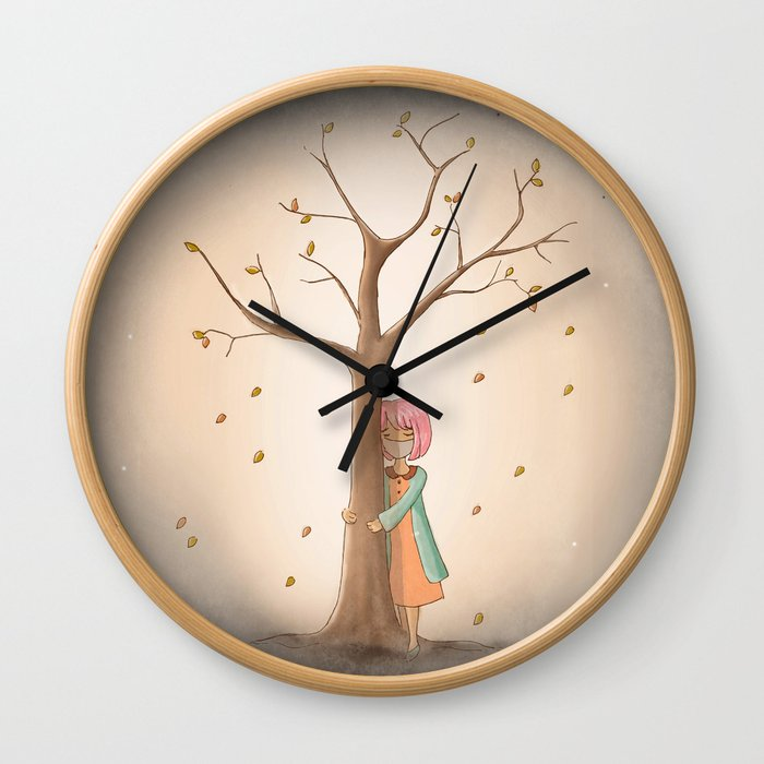 My Last Tree Wall Clock