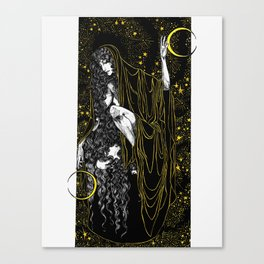 Moon Mother Canvas Print