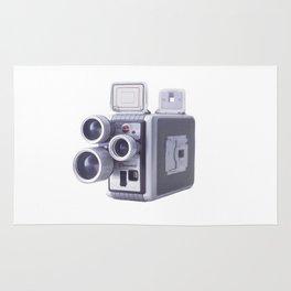 Vintage Camera 16mm Rug