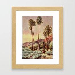Bagg, Henry H. (1852-1928) - On Sunset Highways 1921 - Palm Canyon, California Framed Art Print
