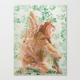 Green Diamond Canvas Print