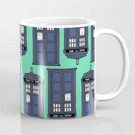 Tardis Time Coffee Mug