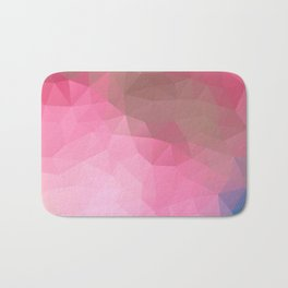 """Chocolate raspberry shake"" Bath Mat"