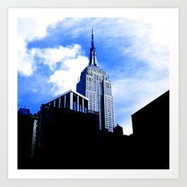 Empire State Building in New York City Art Print