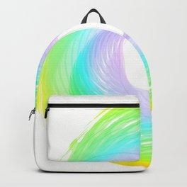 """ Rainbow cloud "" Backpack"