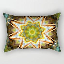 Flower Tree Mandela Rectangular Pillow