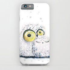winter owls iPhone 6 Slim Case