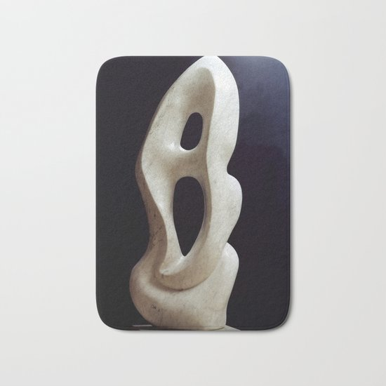 Metaphysical shape by Shimon Drory Bath Mat