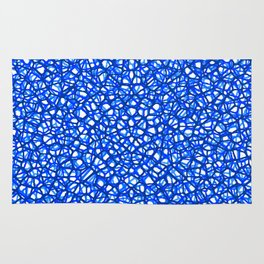 staklo (blues) Rug